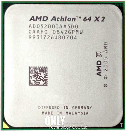 Amd Athlon 64 X2 5200 2 7ghz 1mb Cache Am2 Socket 940 Pin Dual Core Desktop Cpu Processor Athlon 64 X2 Cpu Processoramd Athlon 64 X2 Aliexpress