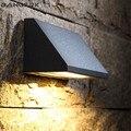 Наружная современная настенная лампа COB 8 Вт  светодиодные светильники для крыльца IP65  водонепроницаемая бра  алюминиевые настенные светиль...