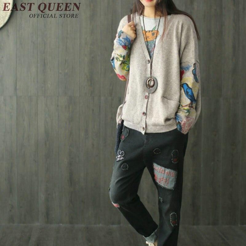 À Unique Nouvelle Cardigan Aa2831 Taille Yq Longues Femmes Coréenne Poitrine Gris Manches Libre 1 2018 Mode Arrivée xS0wSqHt