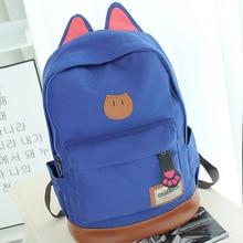 рюкзак рюкзаки для девочек подростков рюкзак женщины рюкзак школьный для школы Женщины сумка холст рюкзак для девочек-подростков женщины вестник мешки женщин мешок bagpack путешествия школьные сумки kawaii рюкзаки