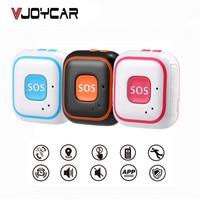 VJOYCAR RF V28 Kids Elder GPS Tracker Children Mini GPS Locator Pendant Two Way Calls Fall Alarm Free APP WIFI GPS LBS Tracking