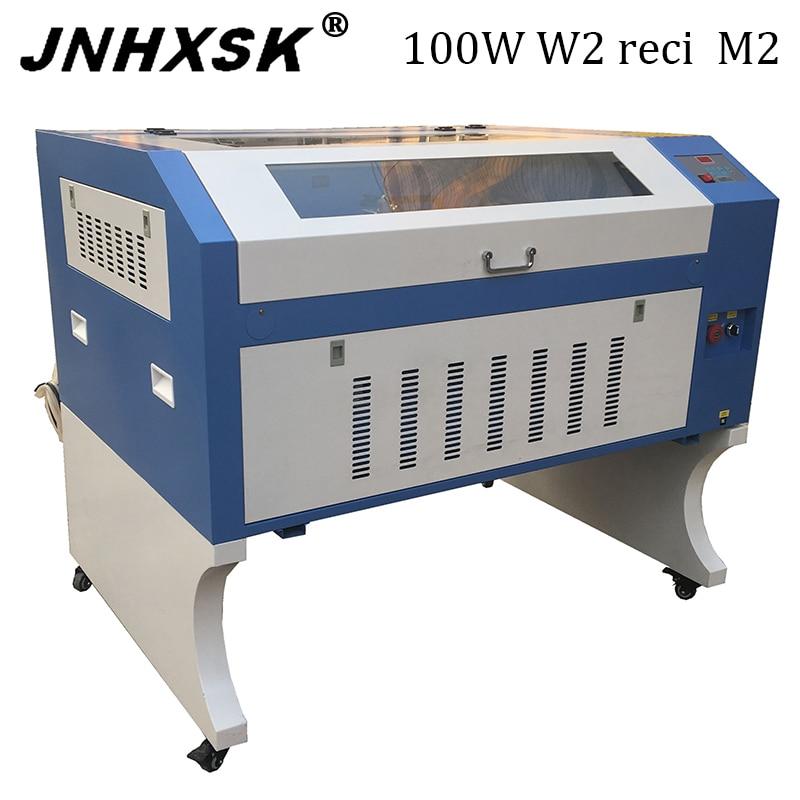 100W W2 Reci M2  6090 Laser Engraving Machine Co2 Laser Engraving  220v /110v Laser Cutter Machine Diy CNC Engraving Machine