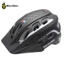 GUB MTB Cycling Mountain Bicycle Racing Cycling PC+EPU Integrally-Molded Helmet 57~61cm Bike Helmet with Visor 19 Air Vents