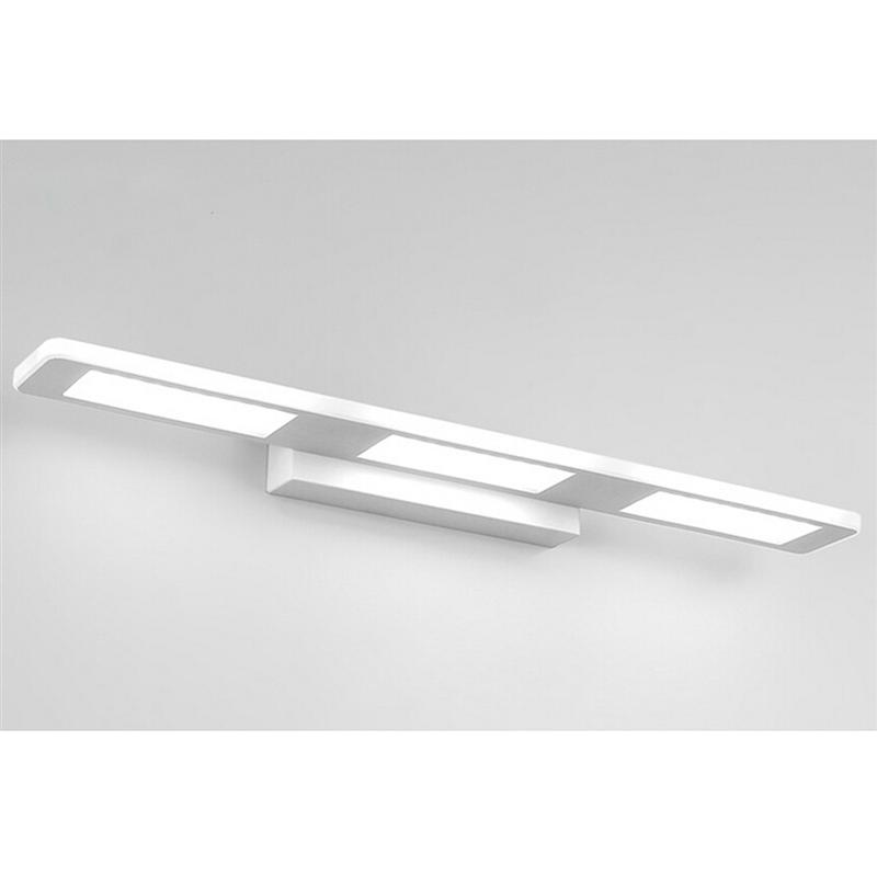 37CM 12W LED Wall Lamp Light Fixture Wall Sconce Porch Brushed Acrylic AC85-260V For Bath Bedroom Living Room Hallway