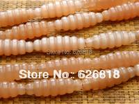 10 Pieces Set Christmas Charm Bracelet 10 30mm Sunstone Carved Beads Rice Chunky Necklace Jewellery