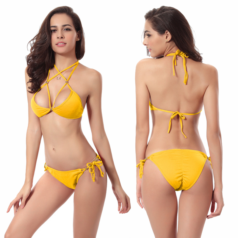 ff1f283861b7c Cheap Price swimsuits women bikin Women s Swimwear bikini tops cute bathing  suits womens suits beachwear-in Bikinis Set from Sports   Entertainment on  ...