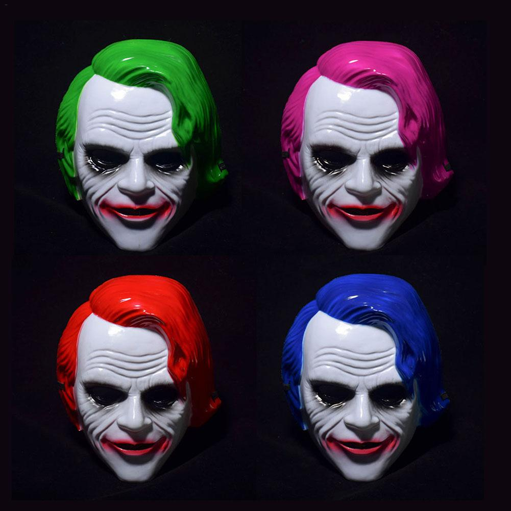 horror ball clown mask cos dress up theme movie original dark knight mask party halloween props