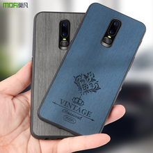 MOFi for oneplus 6 case Oneplus6 Original Back Case Hard Cover for 1+6 PU Leather Conque for Oneplus 6 Luxury Housing TPU PC original 6 1761617 1