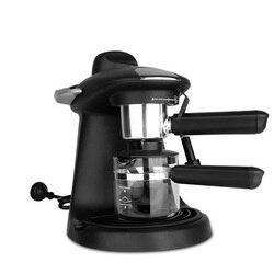 Household Italian Coffee Machine Espresso 730W Automatic Steam Fancy Coffee Maker Set Milk Foam TSK-1822A