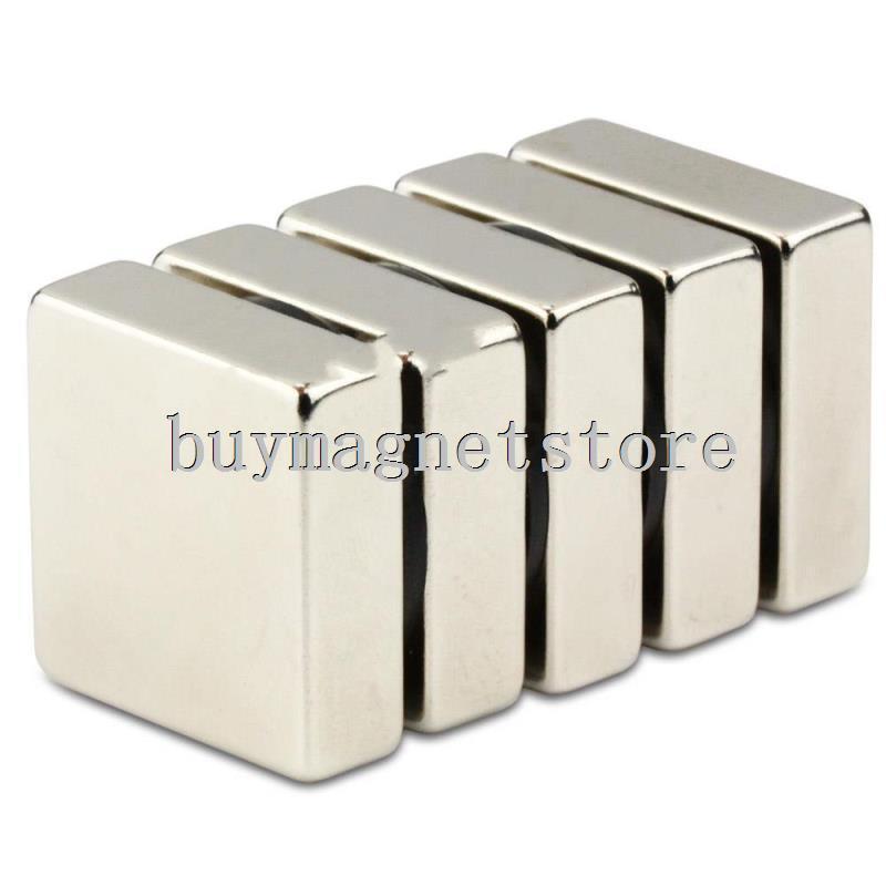 5pcs Big N52 Bulk Super Strong Strip Block Cuboid Magnets Rare Earth Neodymium 30 x 30 x 10 mm  ndfeb Neodymium neodimio imanes lot 10pcs n52 super strong round cylinder magnets 5 mm x 10 mm rare earth neodymium magnet ndfeb neodymium neodimio imanes