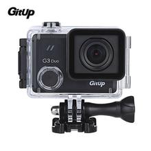 "2017 Yeni Gitup G3 Duo 2 K 12MP 2160 P Spor Eylem Kamera 2.0 ""dokunmatik LCD Ekran GYRO 170 derece Opsiyonel GPS stokta Köle Kamera"