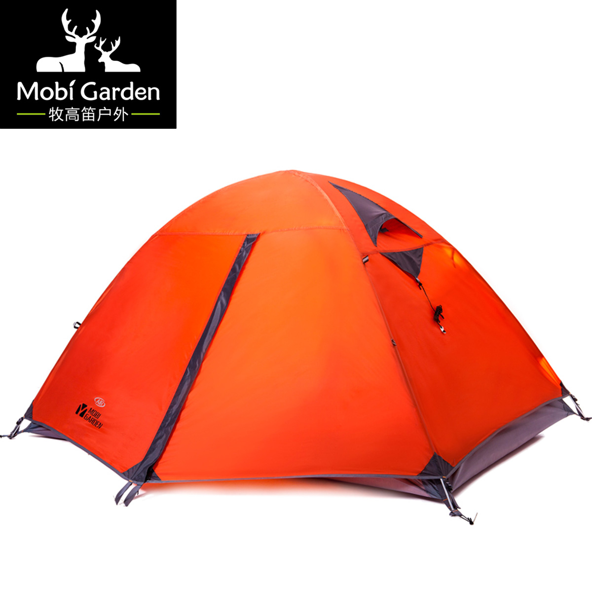 Professional mountaineering tent  hiking windproof double layer aluminum breathable camping tent 2air high quality outdoor 2 person camping tent double layer aluminum rod ultralight tent with snow skirt oneroad windsnow 2 plus