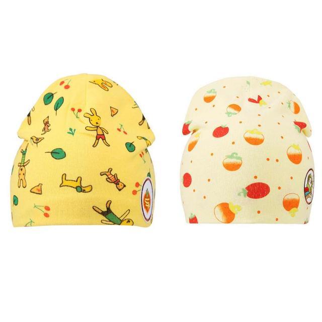 caf5b71e7b6d1 Baru lahir Bayi Musim Dingin Musim Gugur Topi Hangat Lucu Kartun Cetak Kapas  topi untuk Laki