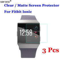 3 Stks/partij Voor Fitbit Ionische Smart Wrist Band Armband Hd Clear/Anti-Glare Matte Anti-kras Screen protector Bescherming Film(China)
