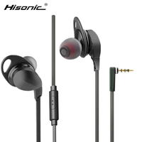 Hisonic Headphones Latest Design 100 Original Earphone Wooden Bass Earphone Monitor For A Mobile Phone Audifonos