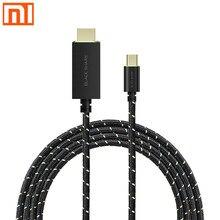 Xiaomi Cá Mập Đen Loại C To HDMI Cáp Bện Dây Vàng Quá Trình Chơi Game Chiếu Cho Cá Mập Đen trò Chơi Điện Thoại Di Động 2