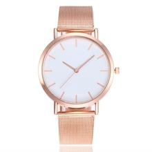Luxury Womens Watch Gold Sliver Alloy Band Casual Clock Round Dial Classic Ladies Wrist 2019 New Fashion Relogio Feminino
