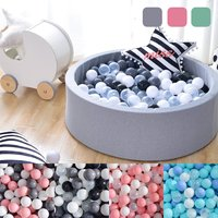 90cm Round Sponge Pool Ball Pits Soft Baby Playing Tent 200PCS Ocean Balls Pool Toys Kids Children Outdoor Fun Sports Toys
