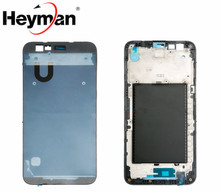 Heyman Middle Front Frame Bezel Housing LCD Screen Holder Frame Repair Parts+Adhesive For LG K10 2017 M250 M250N M250DS