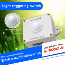 470mhz/433mhz lora wireless illumination sensor 200000Lux industrial light intensity acquisition transmitter