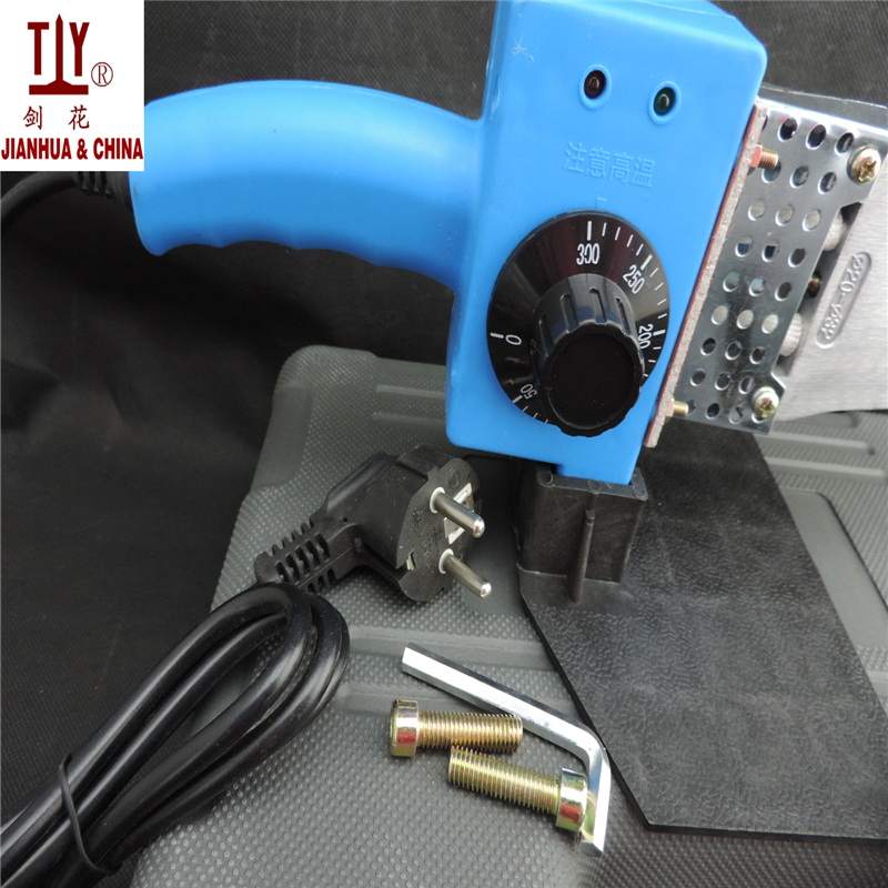 Temperature controled AC 220 110V 600W 20mm 25mm 32mm Plumber tool plastic pipe welding ppr plastic welder machine in Tube Welders from Tools