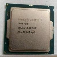 Intel Core I7 6700 CPU LGA 1151 land FC LGA 14 nanometers Quad Core cpu 6 series Processor I7 6700