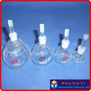 Image 5 - (4pieces/lot)50ml Gay Lussac pycnometer,specific gravity bottle,picnometer