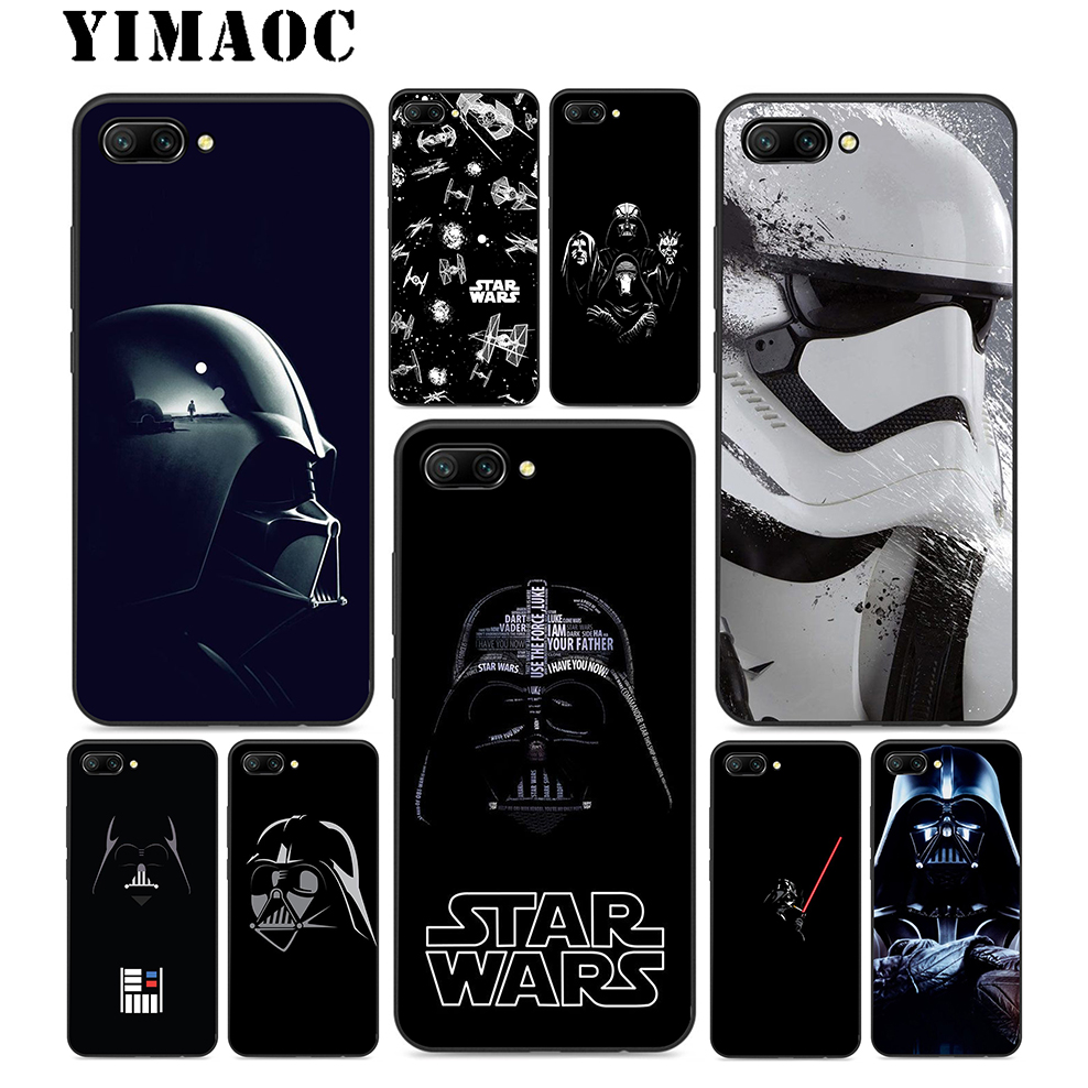 YIMAOC Star Wars Soft <font><b>Silicone</b></font> <font><b>Case</b></font> For <font><b>Huawei</b></font> Honor Mate 10 P20 P10 P9 P8 P Smart <font><b>Y6</b></font> 6A 7A 7X 7C Lite Pro <font><b>2017</b></font> 2018 image