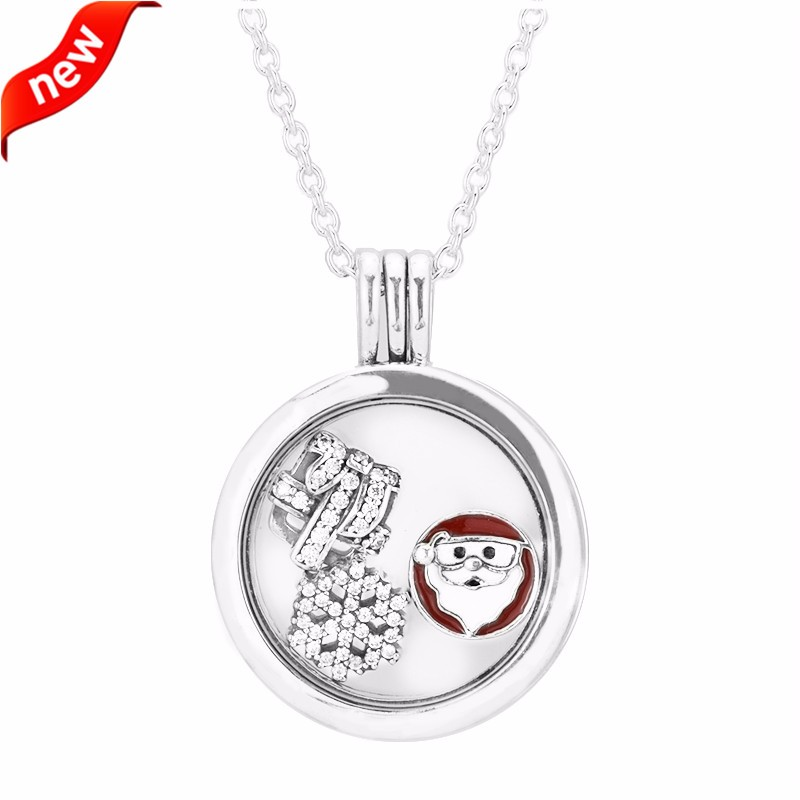 Floating Locket Necklaces with Petite Charms 925 Sterling Silver Jewelry Fashion Necklaces for Women DIY Charms Jewelry MakingFloating Locket Necklaces with Petite Charms 925 Sterling Silver Jewelry Fashion Necklaces for Women DIY Charms Jewelry Making