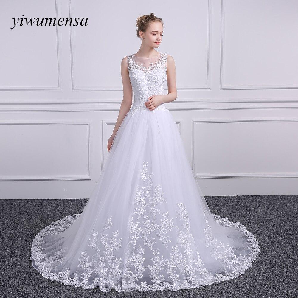 Wedding Dress Ball Gown Style: Aliexpress.com : Buy Yiwumensa New Styles Appliques