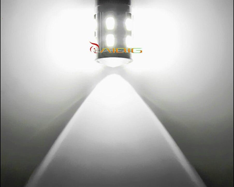 H11 Led Yüksək Güclü 12 SMD 5730 5W Cree çipləri LED Ksenon ağ - Avtomobil işıqları - Fotoqrafiya 6