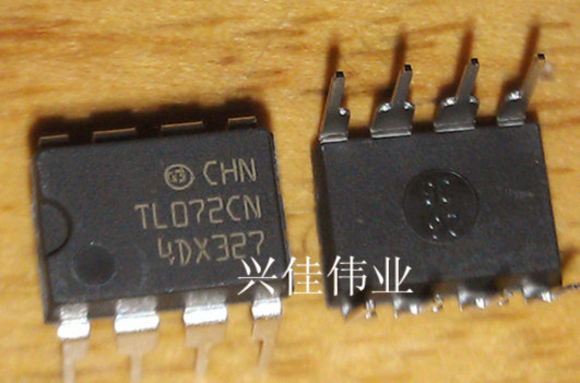 10pcs/lot TL072CP DIP8 TL072 DIP TL072CN DIP-8 New And Original IC In Stock