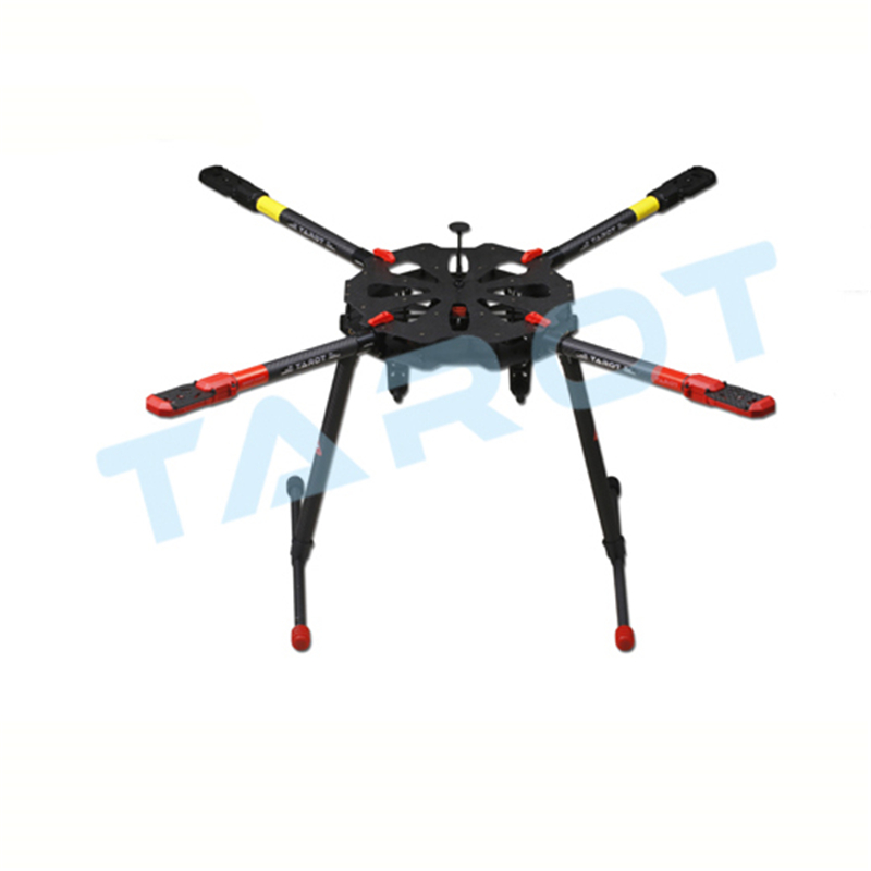 TAROT X4 Carbon Fiber Quadcopter Kit TL4X001  Set  with Electric Retractable Landing Skids and Folding Arm for FPV Photography