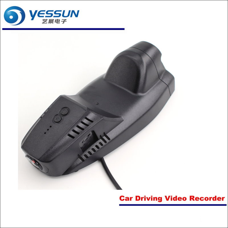 YESSUN Car DVR Driving Video Recorder For Ford EcoSport Front Camera Black Box Dash Cam Head Up Plug 1080P WIFI APP Song IMX323 for kia sorento car dvr driving video recorder mini control app wifi camera black box registrator dash cam night vision