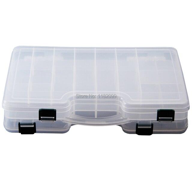 29 см * 19 см * 6 см оптовая продажа водонепроницаемый Box рыболовные снасти муха коробка-нахлыстом коробка-рыболовные приманки чехол счетчик приманки гольян поппер Pesca