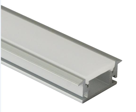 1M/3.3ft Shallow Flush Mount Aluminum Channel U-Shape Aluminum <font><b>Extrusion</b></font> for flex/hard <font><b>LED</b></font> Strip Lights 10x1m/lot Free Shipping