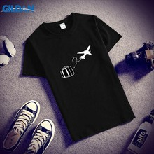 5aa3eec2a4690 Humor Men Tshirt Big Size XXXL Wanderlust Urlaub Flieger Koffer T Shirt  Cotton Short Sleeve Camisetas