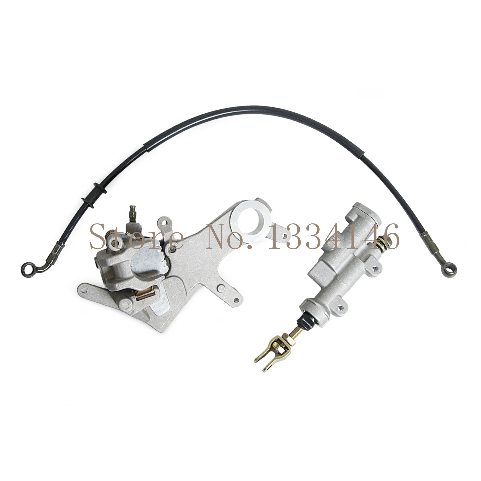ФОТО Rear Brake Caliper Master Cylinder For Honda CR125R 125R CR250R 250R 2002-2007