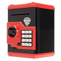 NEW Safety Mini Money Cash Saving Coin Box Security Safes Piggy Bank Password Lock Kids Children