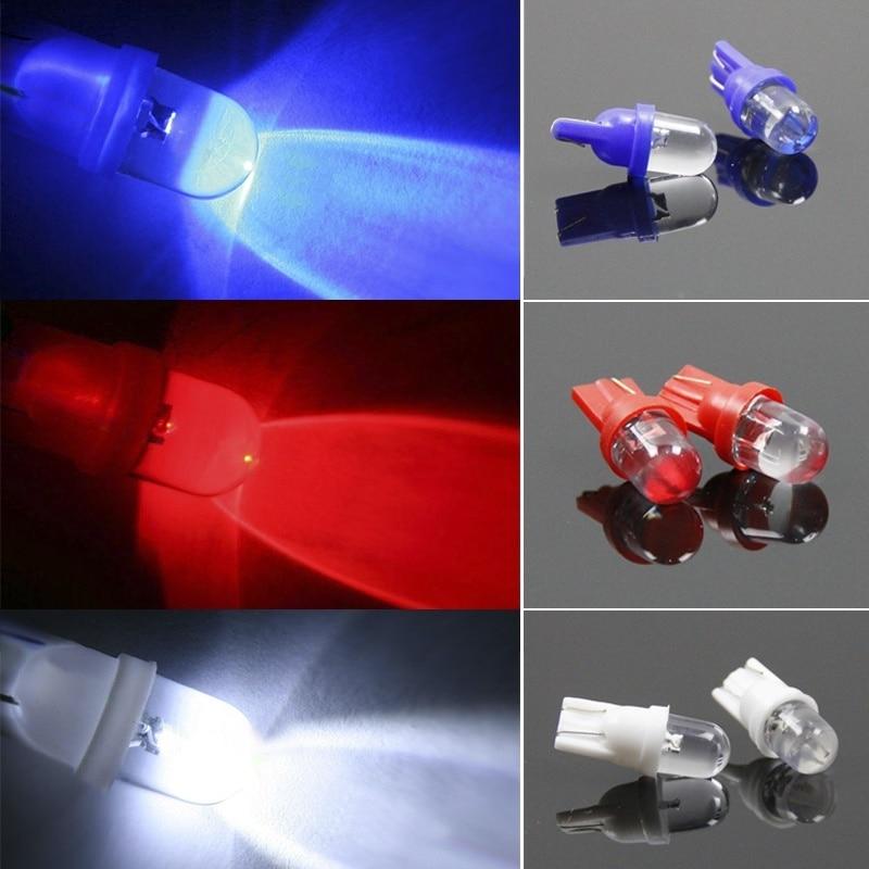 10шт T10 из светодиодов авто Клин свет Боковая Количество панель приборов Лампа 12V RGB с 88 CSL2017