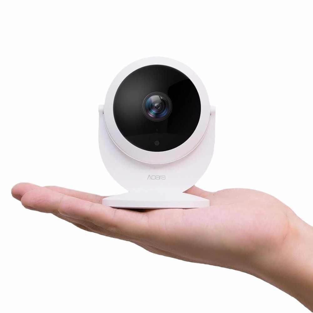 Оригинальный хаб xiaomi aqara cam (шлюз версия), с функцией шлюза 1080 P, 180 градусов для xiaom mi home app смарт-комплекты