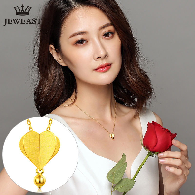 24K Pure Gold Necklace Real AU 999 Solid Gold Chain Trendy Hot Air Balloon Upscale Classic Party Fine Jewelry Hot Sell New 2018 2016 hot sell classic 100