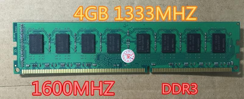DDR3 4GB 8GB 1333Mhz 1600MHz Brand New Desktop Ram Memory for Desktop RAM Memory Free Shipping!!