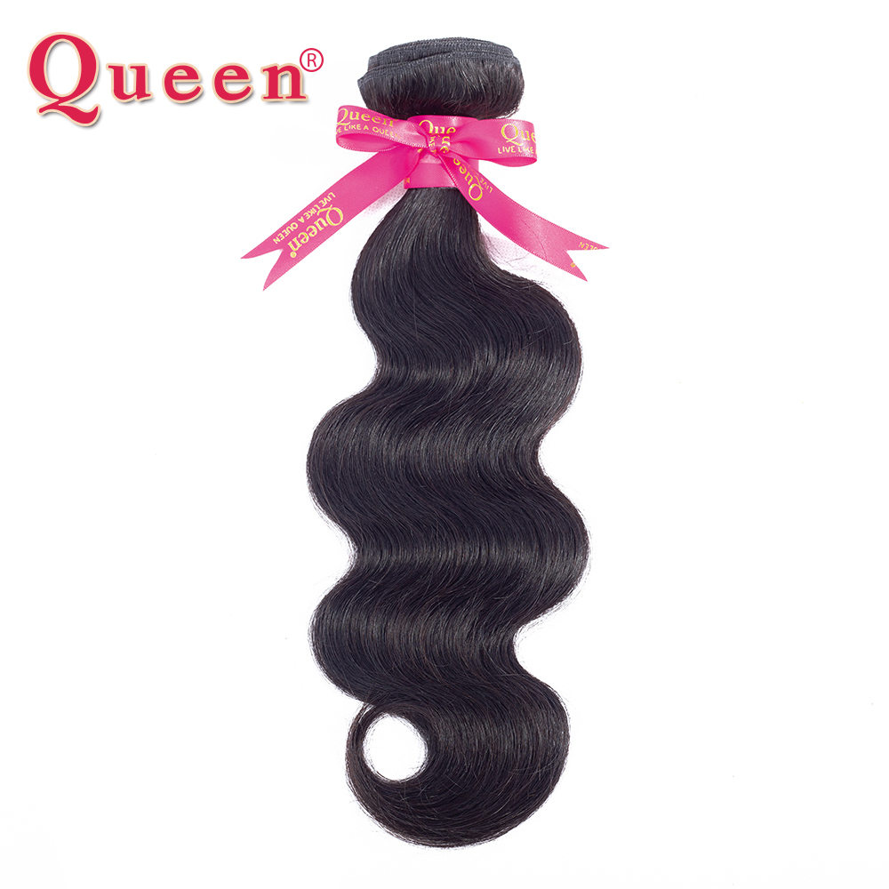 Queen Hair Products Peruvian Body Wave Pachete de păr Remy Părul de țesut uman exersează pachete Extensii pot cumpăra 3 sau 4 pachete cu închidere