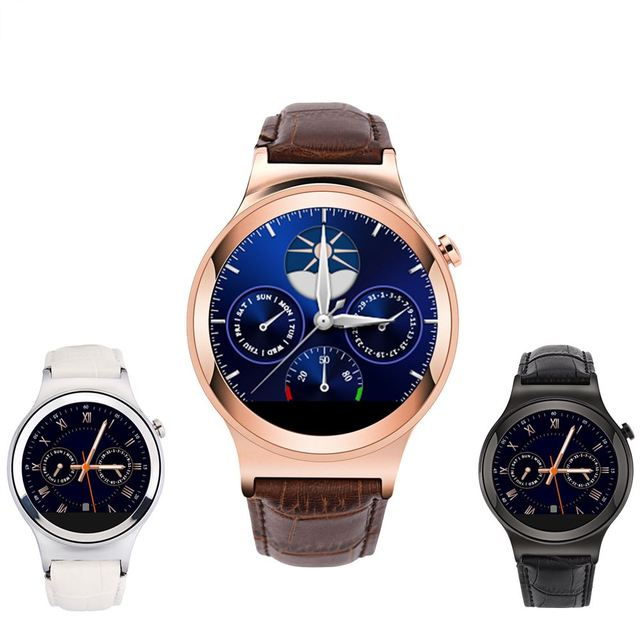 US $49 9  High End Smart Watch Phone Call Pedometer Sleep Monitor Anti Lost  APK Watch with SIM Card Slot for iOS iPhone Android-in Smart Watches from