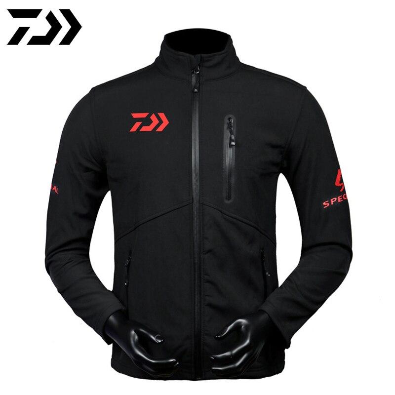Jacket Spring Waterpoof Outdoor Running Rain Coat Man Windbreaker Quick-Dry Fishing Keep Warm DAWA Clothing Fishing Jacket