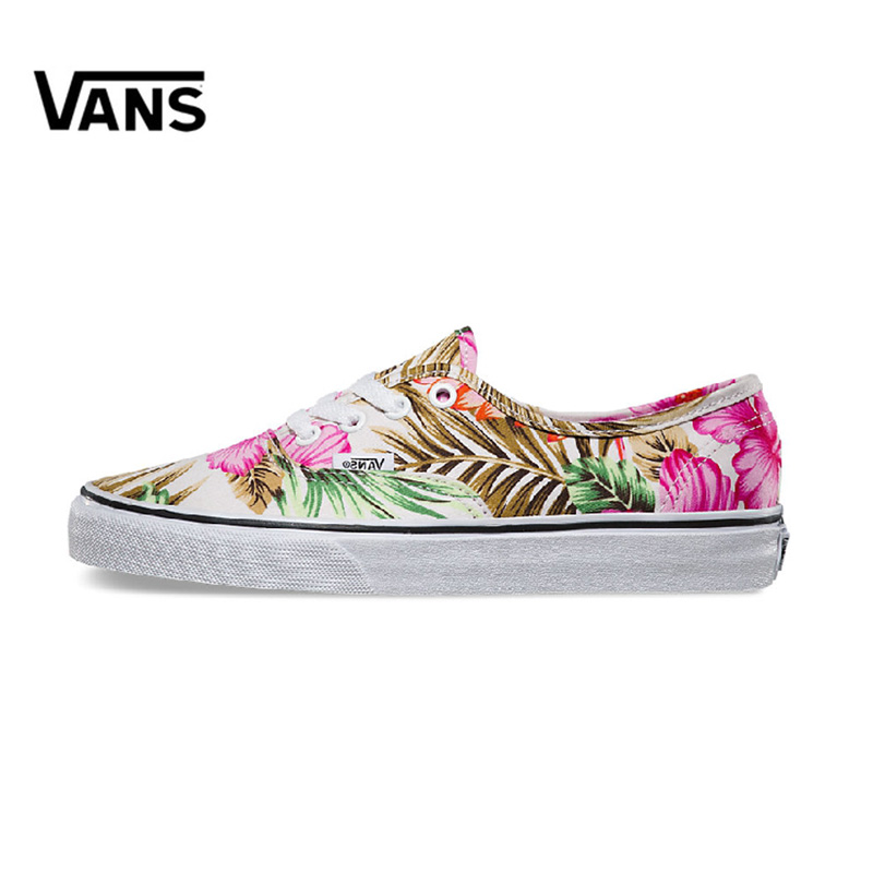 Original New Arrival Vans Women's Classic Authentic Low-top Skateboarding Shoes Sneakers Canvas Comfortable VN-0ZUKFG0
