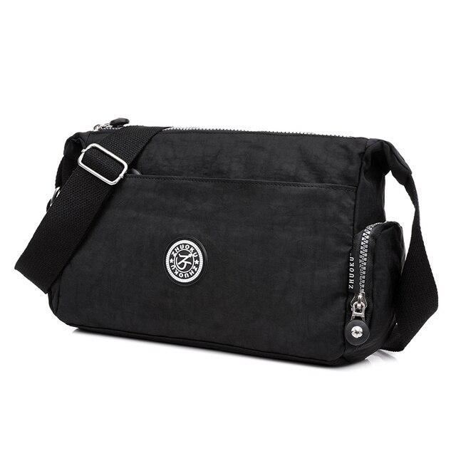 Shoulder Bags Solid Zipper...