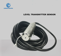 Free shipping Input transmitter sensor 4 20MA liquid level sensor transmitter for Fire water tank range option with 5M cable