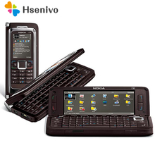 E90 100% Original NOKIA E90 Mobile Handy 3G GPS Wifi 3.2MP Bluetooth Smartphone Red & Geschenk Freies verschiffen